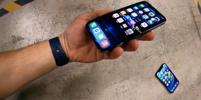 iPhone 12 Pro đã nứt kính Ceramic Shield